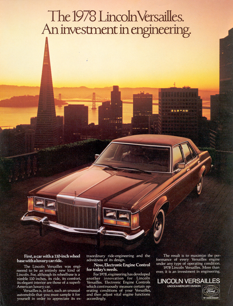 Lincoln Versailles 1978 Ad HD Wallpapers Download free images and photos [musssic.tk]