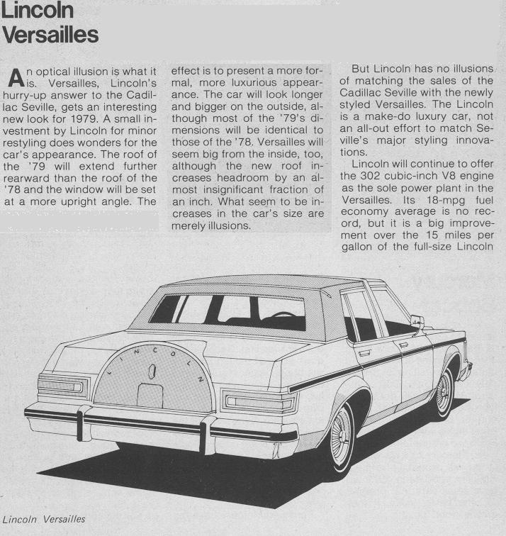 Chrysler Consumer Guide: Consumer Guide 1979 Car Preview