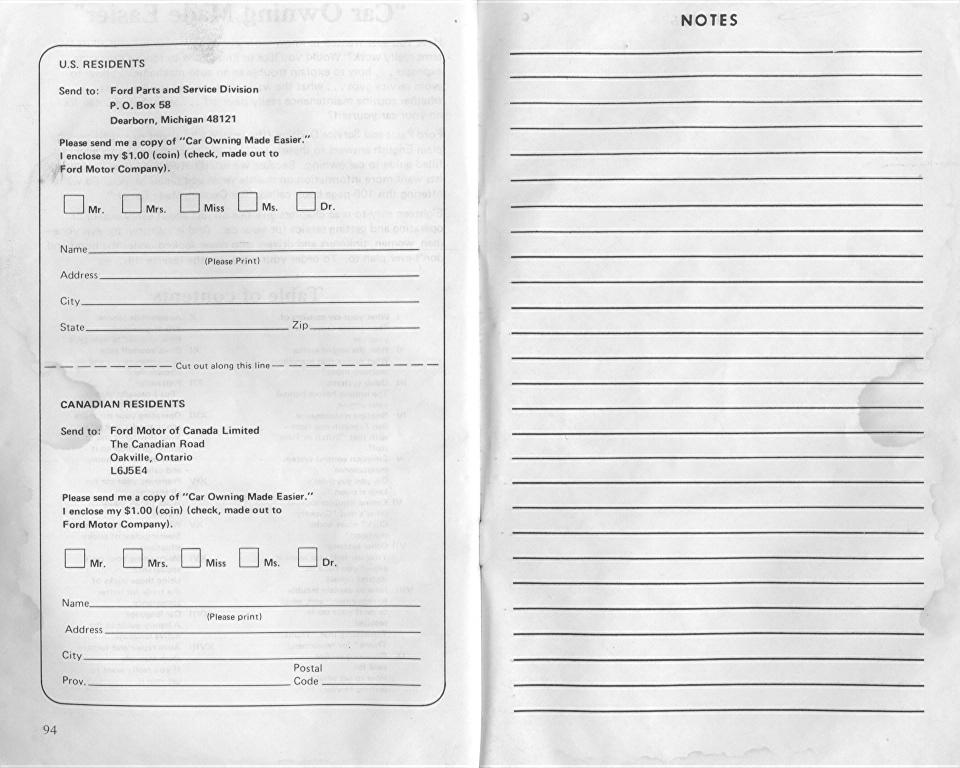 ford granada  1976 owner u0026 39 s manual